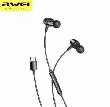 Awei TC-2 auricolare in ear type-c